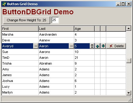 Adding Buttons to DBGrid